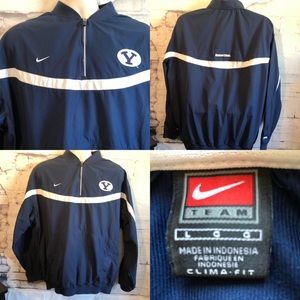 Nike Clima Fit popover Jacket Brigham Young sz.L
